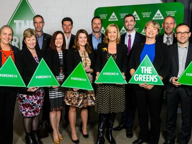 Federal MPs at Launch
